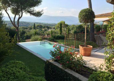 Villa Jackie - uitzicht & zwembad