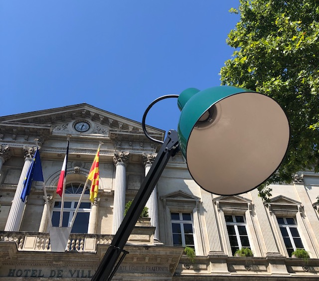 Lamp Stadhuis Avignon